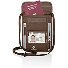 Premium Brustbeutel - RFID-Blockierung - Für Damen & Herren - Wasserabweisend - Leichte und Geräumige Brusttasche - Ideal für Reisen