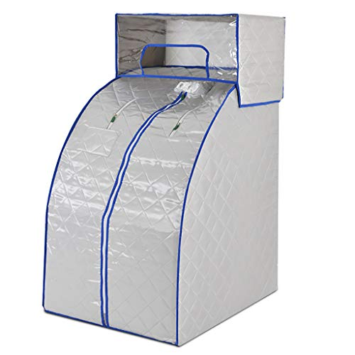 PersöNliche Sauna, Saunen Steamer Maschine, Badewanne Box-Topfhaupt Beweglicher Anzug, Sauna Dampfsauna Dampf-Motor -