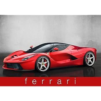 Ferrari - Voiture de sport rouge - voiture - Performance