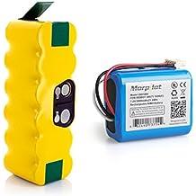 Morpilot 3800mAh Batería Ni-MH para Irobot Roomba 500 600 700 800 Serie iRobot y 3000mAh bateria para Braava 380,380T, Menta 5200,5200B, 5200C Robots