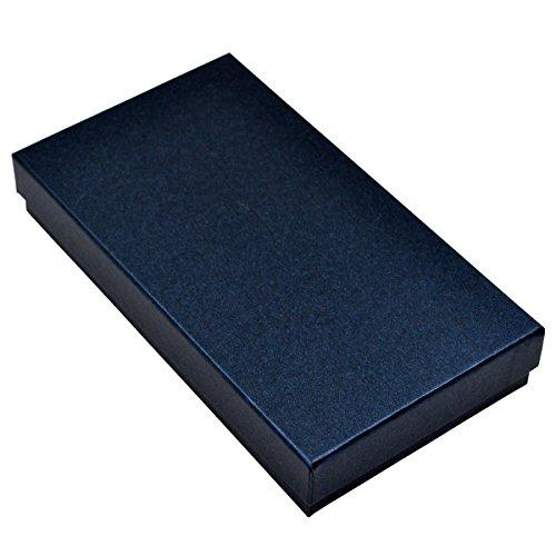 Bravo Crafts in pelle con porta carte di credito, documenti, biglietti da visita, 90 pezzi, custodia a libro con tasca porta cartellino, (Rosa),