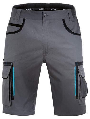 Uvex Tune-Up Pantaloni da Lavoro - Pantaloncini Estivi - Grigio - Taglia 44