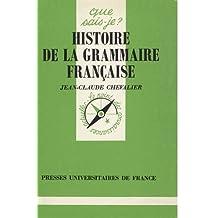 Histoire de la grammaire française