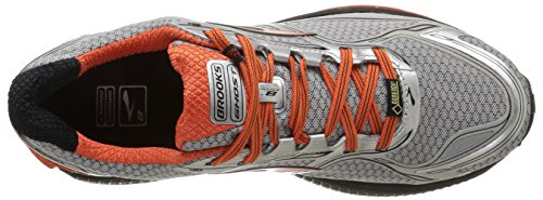 Brooks Ghost 8 Gtx, Chaussures de Course Homme multicolore (Silver/Polnclana/Black)
