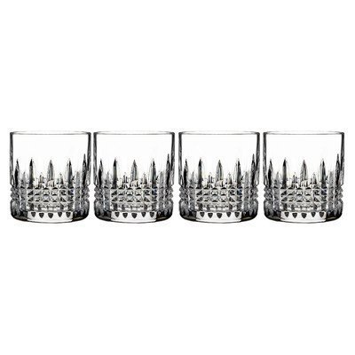Lismore Diamond Straight Sided Tumbler (Set of 4) by Waterford Waterford Tumbler Set