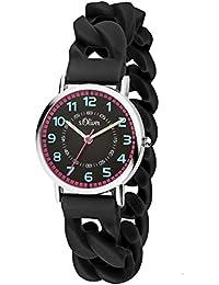 s.Oliver Time Mädchen-Armbanduhr SO-3431-PQ