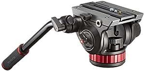 Manfrotto MVH502AH - Rotule Pro Vidéo Fluide - Noir