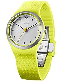 890087fffdb4 Braun Reloj analógico para Mujer de Cuarzo con Correa en Silicona  BN0111WHGRL