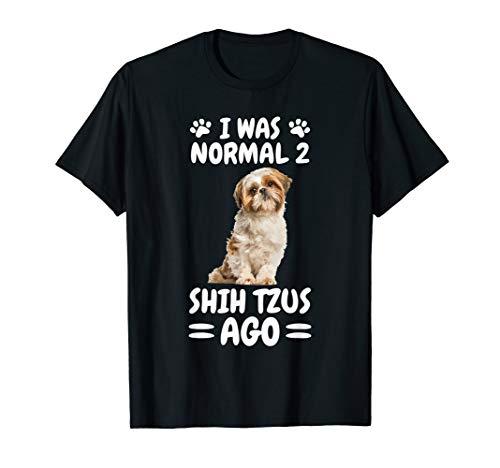 Normal Two Shih Tzus Ago Shih Tzu T-Shirt -