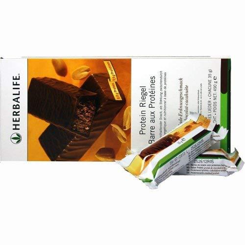 Herbalife Snack (HERBALIFE -Protein Riegel Zitronen-Geschmack  14 Riegel  490g)