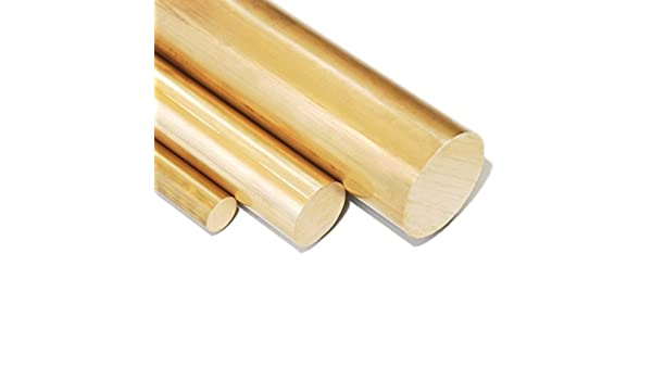 Messingstange auf Zuschnitt L: 500mm 50cm Messing Rundstange Ms58 /Ø 13mm