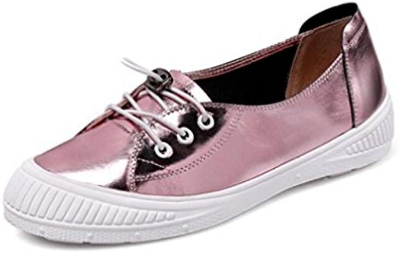 MUYII Mocassini Con Lacci Da Donna Casual Flats scarpe,rosa-35 | | | In Breve Fornitura  | Sig/Sig Ra Scarpa  2f0357