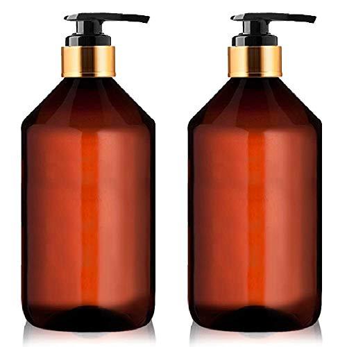 Botellas Ambar Vacias Plastico Dispensador Pompa Jabon