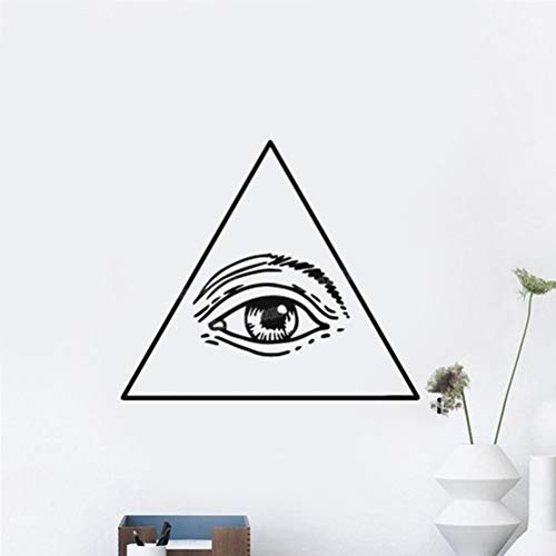 wandaufkleber 3d Wandtattoo Schlafzimmer Freimaurer Symbol Dollar Auge der Vorsehung Home Decor Living Roon Special