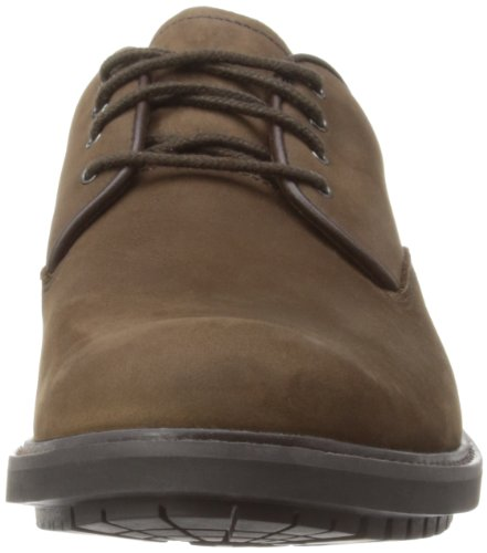 Timberland EK Stormbucks FTM_StormbucksPlain Toe Oxford Herren Oxford Schnürhalbschuhe Braun (Burnished Dark Brown Oiled)