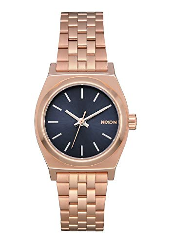 Nixon A399-3005 Small Time Teller Women's Watch Rose Gold Stainless Steel