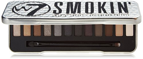 W7 Up in Smoke Paleta Maquillaje Con 12 Pigmentada