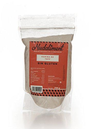 Harina de Teff sin gluten 750 gr