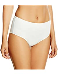 6a6fe733cdfc Maison Lejaby 5304-801 Women's Invisible Lily White Panty High Waist Brief  Knickers