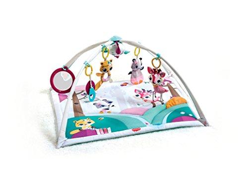 Tiny Love Gymini Deluxe Princess Edition Spieldecke mit Spielbogen, mehrfarbig