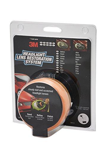 Le kit de rénovation d'optiques 3M pour des phares qui luisent - 418Ek2uBdLL - Le kit de rénovation d'optiques 3M pour des phares qui luisent