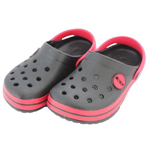 Enfants / Nourrisson IAM Surf Garçons Filles Unisexe Plage Sabots Sandales Mules Chaussures À Enfiler Noir