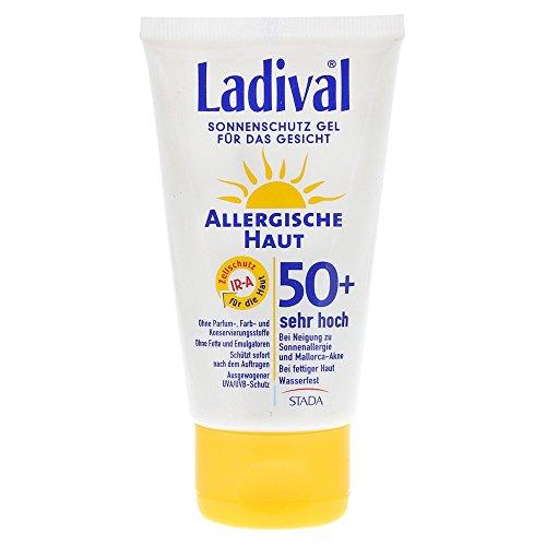 Ladival Allergische Haut LSF 50+ Gesicht Sonnenschutz Gel, 75 ml