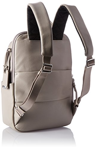 Tumi Voyageur, Daniella Small Leather Backpack, 12 Laptop computer, Gray, 017002Gy Image 3