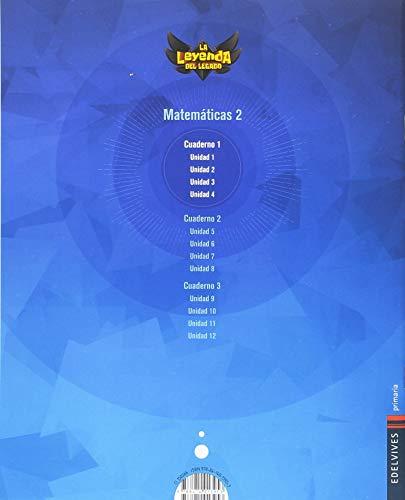 Proyecto: La leyenda del Legado. Matemáticas 2 - Comunidad de Madrid : Cuaderno 1
