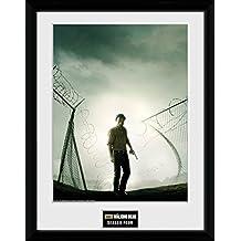"""GB eye fotografía enmarcada """"The Walking Dead temporada 10,2 cm, multicolor, 16 x 30,5 cm"""
