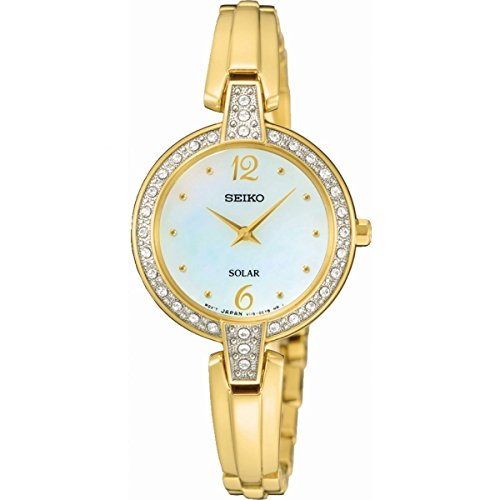 Ladies Seiko Solar Powered Watch SUP290P9