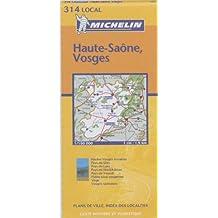 Carte routière : Haute-Saône - Vosges, N° 11314