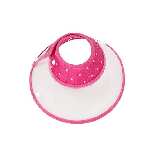 Vivifying Haustier Halskrause, Verstellbar von 17-23 cm Leichtgewicht Schutzkragen für Welpen, Kleine Hunde und Katzen (Pink)