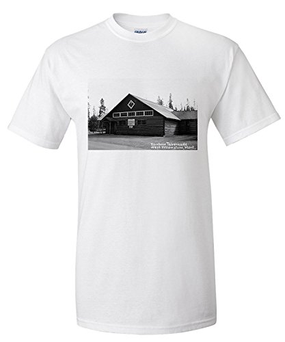 west-yellowstone-montana-rainbow-tabernacle-photograph-premium-t-shirt
