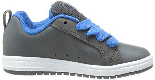 DC Shoes Court Graffik G Jungen Sneaker Grau (Battleship/Armor)