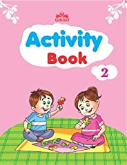 Gikso Activity Book – 2 for Kids Age 4-7 Years Old