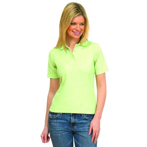 Femmes Polo Manches Courtes Loisir T-shirt Décontracté Sport Vêtements De Travail - Blanc, S