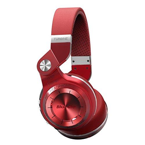 Bluedio-T2-plus-auriculares-inalambricos-bluetooth-41-con-radio-incorporada-y-micro-sd-Rojo