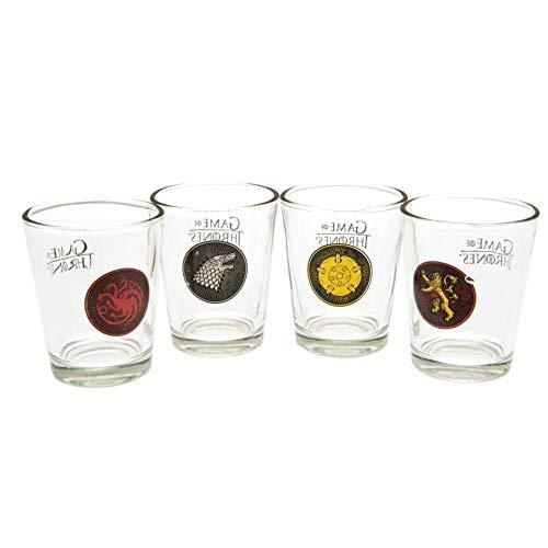 Pack oficial de 4 vasos de chupito