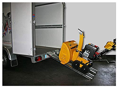 Rampe de chargement Rampe moto ATV acier 200 kg 190x23 cm