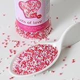 Mini perles alimentaires Rouge