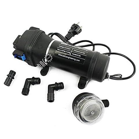 BACOENG AC220V Self Priming Water Pressure Diaphragm Pump 4.5GPM 17L/min 40PSI
