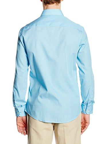 CASAMODA Herren Regular Fit Business Hemd 006760 Blau
