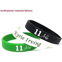 FANwenfeng NBA Baloncesto Kyrie Irving Pulsera de Silicona de la Firma Estudiante Sport Wristband (Mezcla