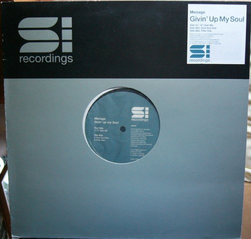 Givin Up My Soul - Menage 12""