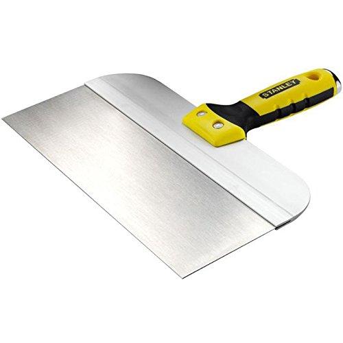 Stanley Breitspachtel (200 mm Klingenlänge, Griffkappe aus Zinklegierung, rostfreier Stahl, Griffaussparung) STHT0-05895