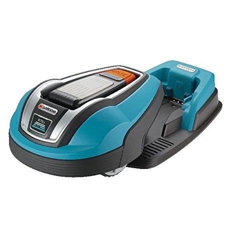 Gardena 04072-26 R70LI Robot Tondeuse Plastique Blue 80 x 52,5 x 37 cm