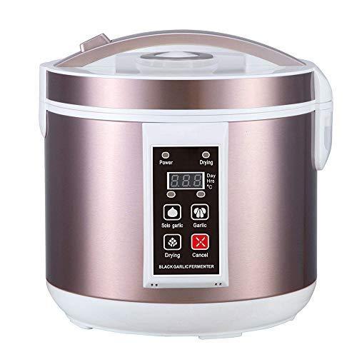 HUKOER 5L Fermentador de ajo Negro Todo-en-uno máquina de fermentación Inteligente ajo pote eléctrico...