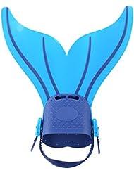 Flossen Gemeinsame, Form der Schwanz der Meerjungfrau, Werkzeug von Schwimmen und Tauchen für Erwachsene und Kinder (Multi Farben)
