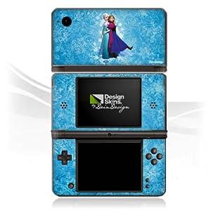 DeinDesign Skin kompatibel mit Nintendo DSi XL Folie Sticker Offizielles Lizenzprodukt Frozen Disney